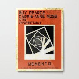 Memento versus Vertigo Metal Print