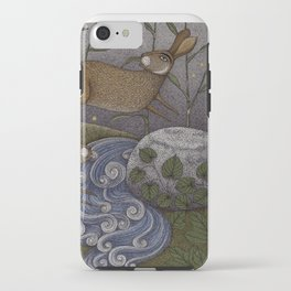 Swamp Rabbit's Reedy River Race iPhone Case