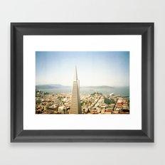 Transamerica Pyramid, San Francisco Framed Art Print