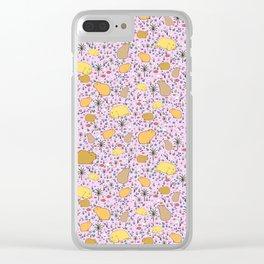 I Love Capybaras Clear iPhone Case