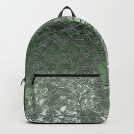 Grunge Relief Floral Abstract G167 Backpack