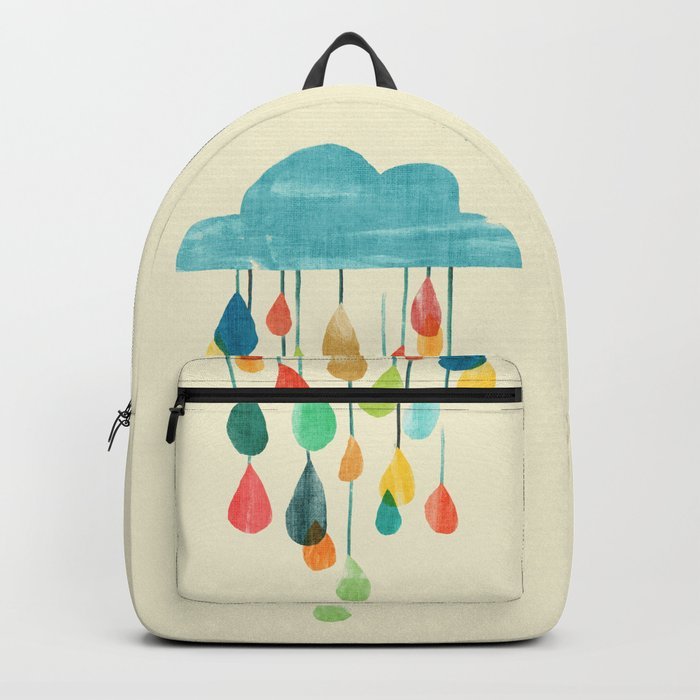 cloudy with a chance of rainbow Rucksack