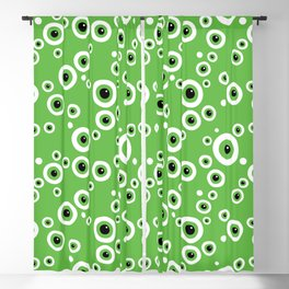 Still Watching. Green Eyes Blackout Curtain