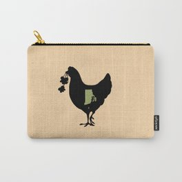 Rhode Island - State Papercut Print Carry-All Pouch