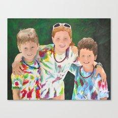 Luke, Hadley, and Peter Morgan Canvas Print