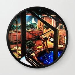 stars bath Wall Clock