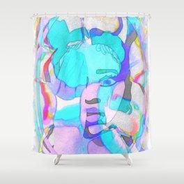 Colourful Candy Ella Mai Design Shower Curtain