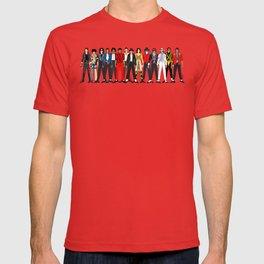 King MJ Pop Music Fashion LV T-shirt