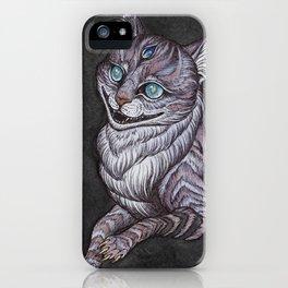 the Cheshire Cat art print iPhone Case