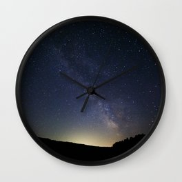 Somewhere in the Deschutes Wall Clock