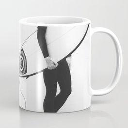catch a wave V Coffee Mug