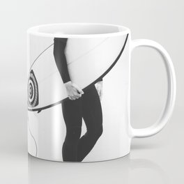 catch a wave V Coffee Mug