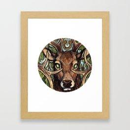 Oak King Framed Art Print