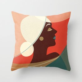 Venn Deco (Part II) Throw Pillow