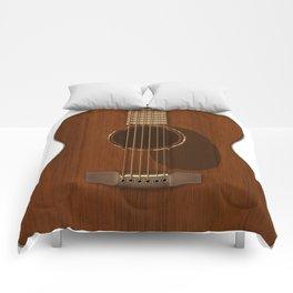 Acoustic Guitar Art Comforters