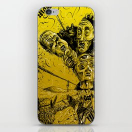 Violent muses iPhone Skin