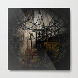 No Entrance, No Exit. Metal Print