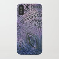 paisley iPhone & iPod Cases featuring Paisley by Avalon Corvus