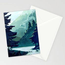 Canadian Mountain Stationery Cards