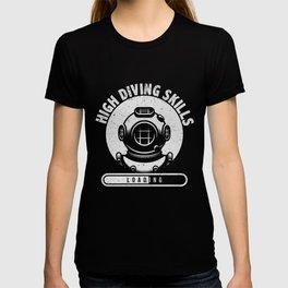 Diving Skills  Hobby Diver Gift T-shirt