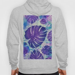 monstera leaves tropical 4 Hoody