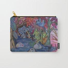 Rainforest friends Carry-All Pouch