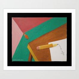 enc.ojo Art Print
