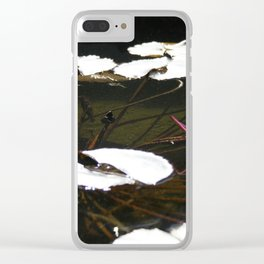 Lotus Pond  by Mandy Ramsey Clear iPhone Case