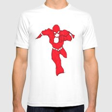 Bang! gone. Mens Fitted Tee White MEDIUM