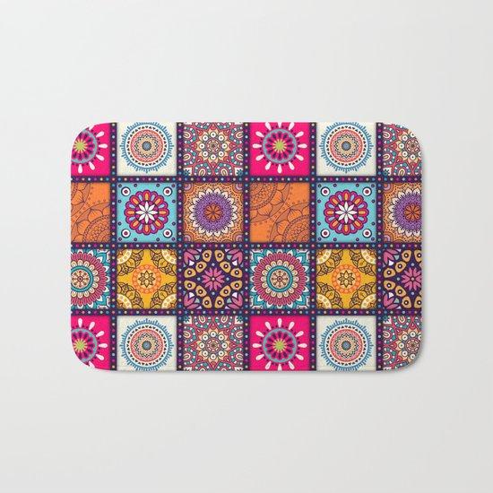 Pattern form Mandala Bath Mat