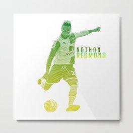 Norwich City: Nathan Redmond Metal Print
