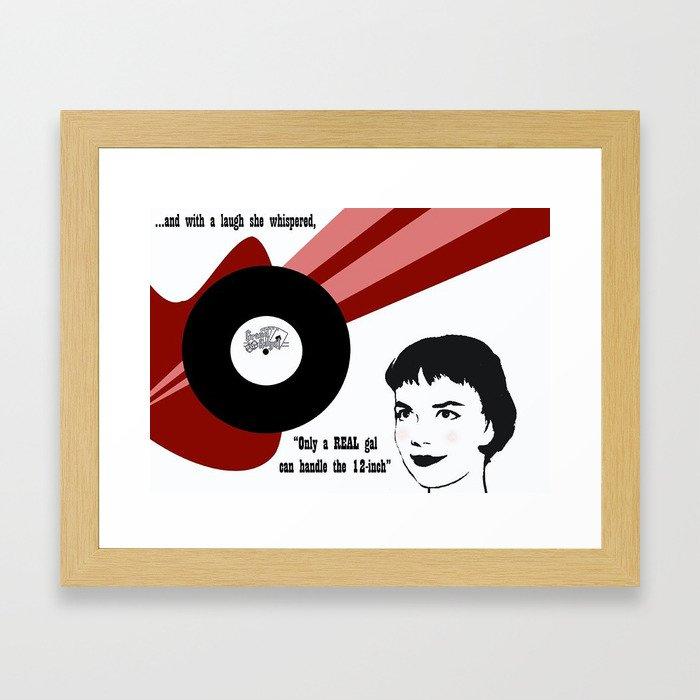 12-Inch Framed Art Print