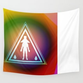 I am Sticking with You The Great Waterfall Society Wall Tapestry