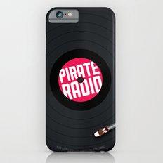 Pirate Radio poster (black) iPhone 6s Slim Case