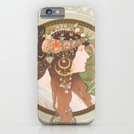 Alfons Mucha iPhone Case