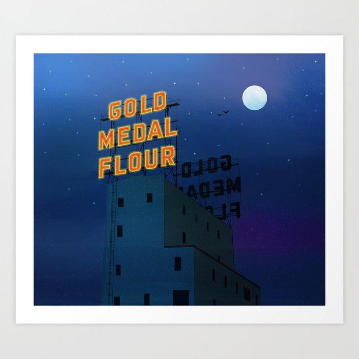 GOLD MEDAL FLOUR Art Print