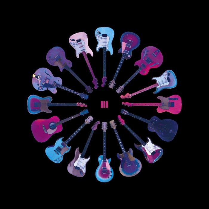Music Circle Duvet Cover