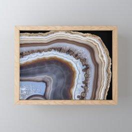 Mocha Agate 3294 Framed Mini Art Print