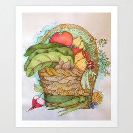 Homegrown Art Print