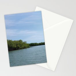 The Fisherman estuary Stationery Cards