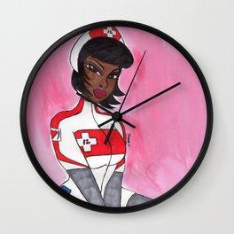 Hello Nurse Wall Clock