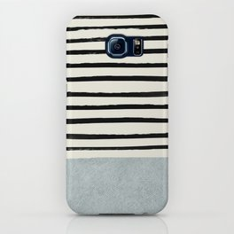 Silver x Stripes iPhone Case