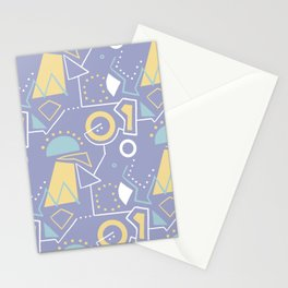 GrazeMaze Blu Stationery Cards