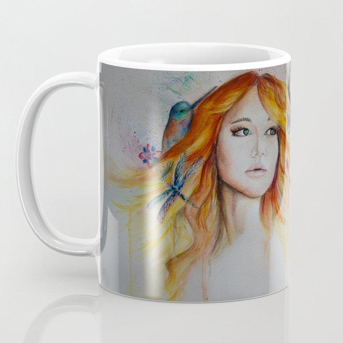 Jennifer Lawrence Watercolor  Coffee Mug