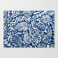 Hawaiian tribal pattern Canvas Print