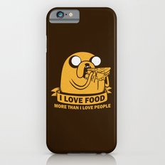 i love food more than i love people Slim Case iPhone 6s