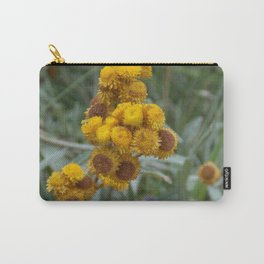 Paper Daisy  Carry-All Pouch