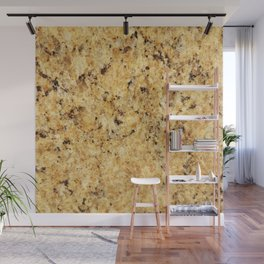 Modern gold yellow black abstract stylish marble Wall Mural