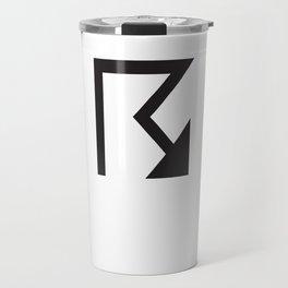 Arrow non-secular mark. Travel Mug