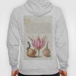Tulips Insect and Worm from Mira Calligraphiae Monumenta or The Model Book of Calligraphy (1561-1596 Hoody